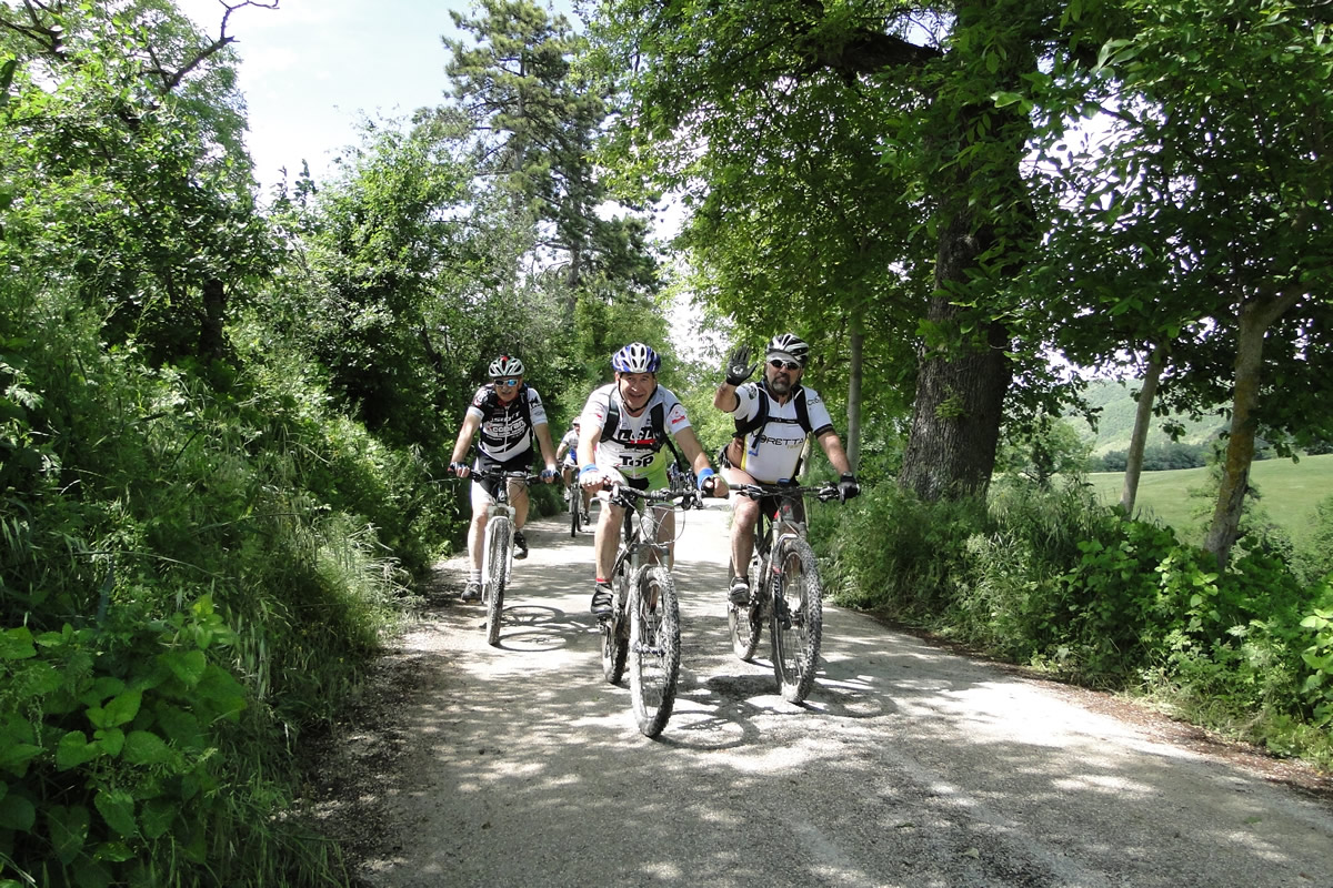 Pesaro Loreto in bike